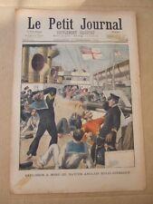 PETIT JOURNAL ILLUSTRE 1er DECEMBRE 1901 N° 576 NAVIRE ANGLAIS ROYAL SOVEREIGN