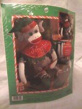 """Leisure Arts Jingles Clochette 21"""" Sock Monkey Craft Kit  New Bin Y"""