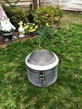 Firepit Washing Machine Tub Washer Stainless Basket Drum Fire Pit