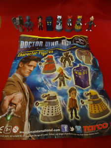 Dr Who vending machine collectable figures 2013 series cheapest set on ebay