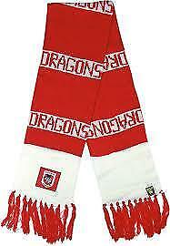St George Illawarra Dragons Official NRL Bar Scarf