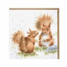 Wrendale Between Friends Squirrel Greeting Card X1 UK SELLER