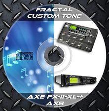 4.731 Patches FRACTAL. Axe-FX II-Axe-FX II XL- Axe-FX II XL+ - AX8. Custom Tone