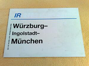 ZLS IR Würzburg - Ingolstadt - München 5/99 F 7500/7501 3(3) DB/GB F/RB Süd