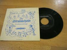 "7"" Single Der Struwwelpeter Vinyl Edition Peters 4 25 044"