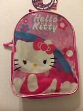"Hello Kitty Mini Backpack with Hood Girls 10"" Bag"