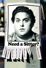 JONAH HILL THE SITTER 27X41 AUTHENTIC DOUBLE SIDED THEATRE POSTER