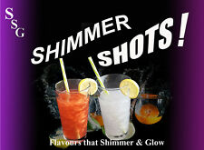 Shimmer Shots! Edible Glitter Drinks,Gin,Vodka,Wine,Soft Drinks,Procecco,Unicorn