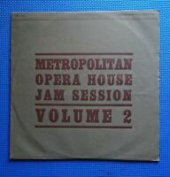 LP - METROPOLITAN OPERA HOUSE JAM SESSION jazz of the world war 2nd 1944 VOL 2