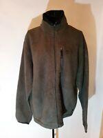 Vintage 90s TIMBERLAND Mens POLARTEC Fleece Jacket | 90s Retro | L Khaki