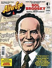Alter Ego #134 Sol Brodsky Stan Lee's Right Hand Man TwoMorrows  July 2015