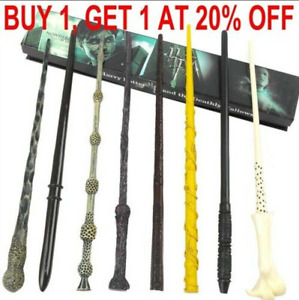 Boxed Harry Potter Dumbledore Voldemort Hermione Magic Wand Collection Cosplay