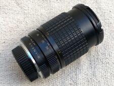 Sun 28-80mm f3.5-4.5 Manual Focus Zoom Lens For Pentax PK Mount