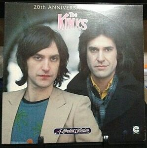 THE KINKS A Compleat Collection 20th Anniversary Edition GateFold DOUBLE Album