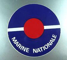 ANCIEN AUTOCOLLANT DES ANNEES 70 / MARINE NATIONALE