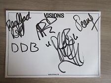 Deez Nuts original handsignierte Autogrammkarte In-Person! Musik