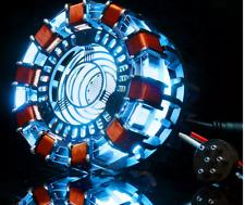 MK2 Acrylic Tony DIY Arc Reactor Lamp Arcylic Kit Illuminant LED Flash Light Set