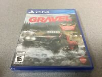 Gravel (Sony PlayStation 4, 2017) PS4 NEW