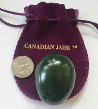 Yoni Egg for Beginner Users, Large Size, Made of Nephrite by Polar Jade