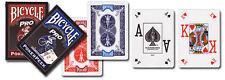 2 Decks Bicycle Pro Poker Peek Playing Cards WPT WSOP Red Blue PokerPeek set