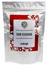 1kg organic certified RAW GUARANA powder by NUKRAFT® - Brazil - Caffeine source
