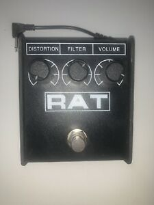 ProCo RAT2 with LM308N Mod - Distortion Pedal - Black