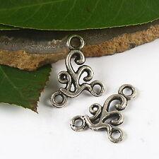 30pcs Tibetan silver immemorial connectors charms h2612