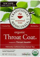 Organic Throat Coat Tea by Traditional Medicinals