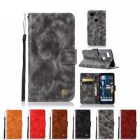 Flip Card Holder Wallet Stand Leather Case Cover For Google Pixel 3 XL Pixel 2