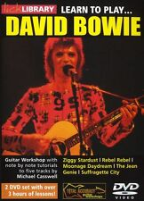 LICK LIBRARY Learn to Play DAVID BOWIE Rebel Ziggy Stardust POP Tutor GUITAR DVD
