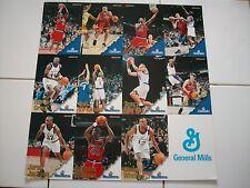 Washington Bullets Sports Card Sheet - SGA - Features 11 Players