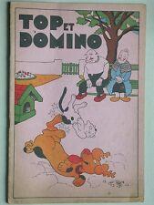 Top et Domino éd. Gutenberg Humour Comique Lyon Enfantina Illustrations couleurs