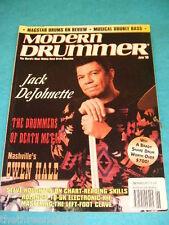 MODERN DRUMMER - JACK DeJOHNETTE - JUNE 1995