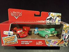 DISNEY PIXAR CARS PISTON CUP PIT ROW CREW FLO RSC 3 PACK SAVE 5% WORLDWIDE FAST