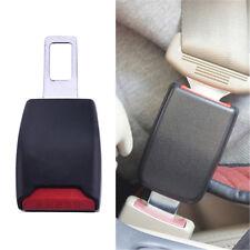 2Pcs Car Safety Adjustable Seat Belt Clip Extender Extension Universal  Black w/