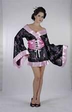 Geisha Girl Fancy Dress Kimono Japanese  Oriental  Chinese  One Size 8 10 12