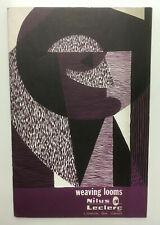 Vtg NILUS LECLERC Weaving Looms Illustrated Catalog #170 Quebec Canada Textiles