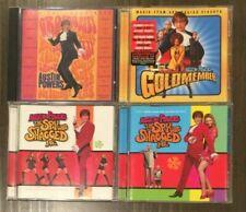 Austin Powers Soundtrack 4 Cd Lot Spy Who Shagged Me Goldmember Man Of Mystery