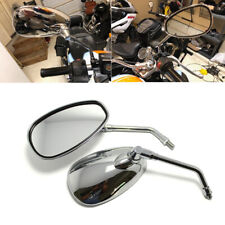 Chrome Motorcycle Rearview Mirrors 10mm for Suzuki GS1100G GS1000 GS850G GS750