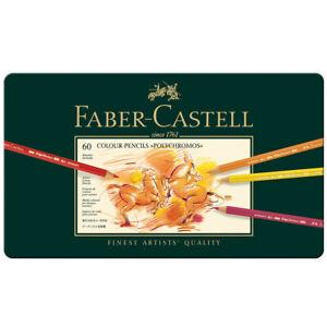 NEW Faber Castell Polychromos Artist Quality Colour Pencils Set of 60