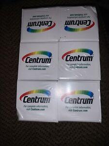 Lot Of 6 CENTRUM ADULT MULTIVITAMIN / MULTIMINERAL SUPPLEMENT -60 TABLETS X 6