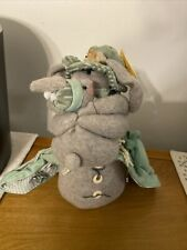 Melissa Ann Stuffed Bunny With Baby Weighted Plush