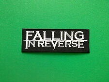 HEAVY METAL PUNK ROCK MUSIC SEW ON / IRON ON PATCH:- FALLING IN REVERSE (a)
