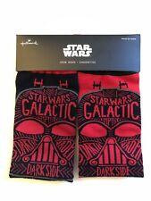 Hallmark Disney Star Wars Darth Vader Crew socks NEW