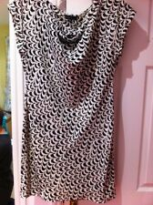Dress Next Size 10 Black Cream New