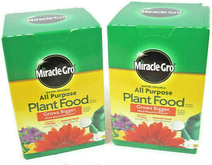 Miracle-Gro All-Purpose Plant Food - Water Soluble - Instantly Feeds - 2-Pack