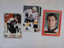 Mike Richards 2014/15 Upper Deck Game Jersey + 2 2005/06 Upper Deck Rookie Cards