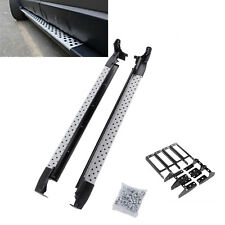 For 2007-11 Honda CRV Silver Running Boards Set Side Step OE Style Aluminum Bar