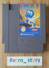 Nintendo NES Adventures Of Lolo 2 PAL