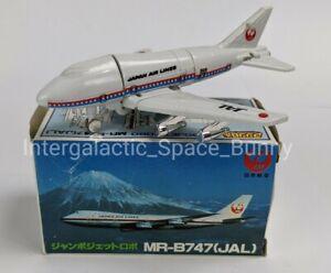 1985 Bandai Gobots Machine Robo Japanese Jumbo MR-747 100% Complete & Boxed